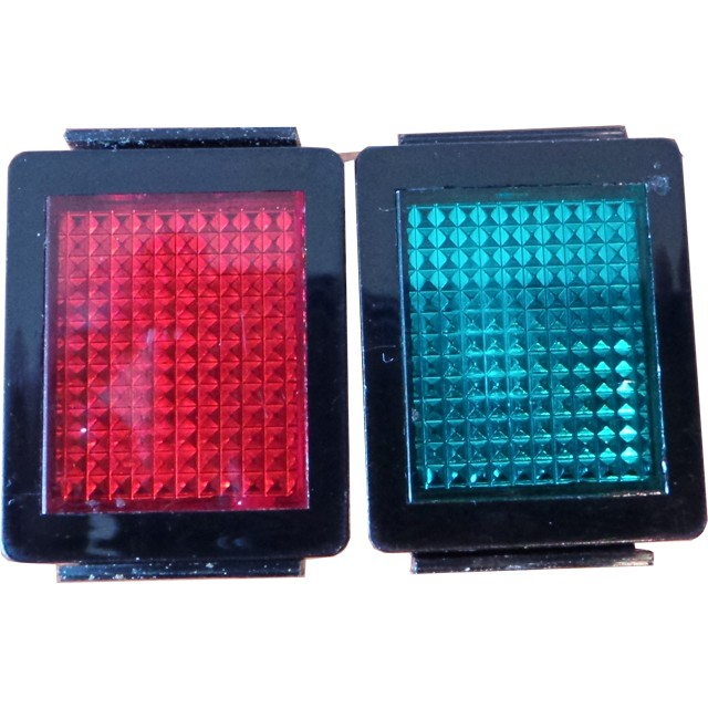 Merling Red and Green Neon Indicator Lights