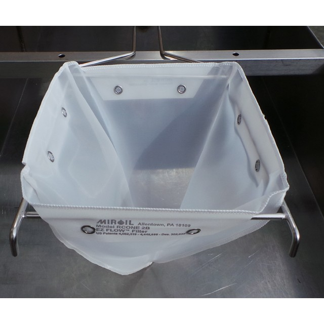 Miroil nylon standard cone holder filter bag