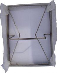 Rectangular frying oil filters