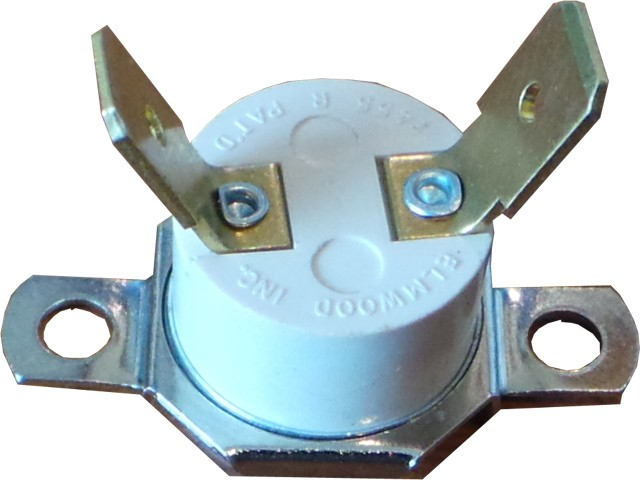 70 Degree NC Button Thermostat