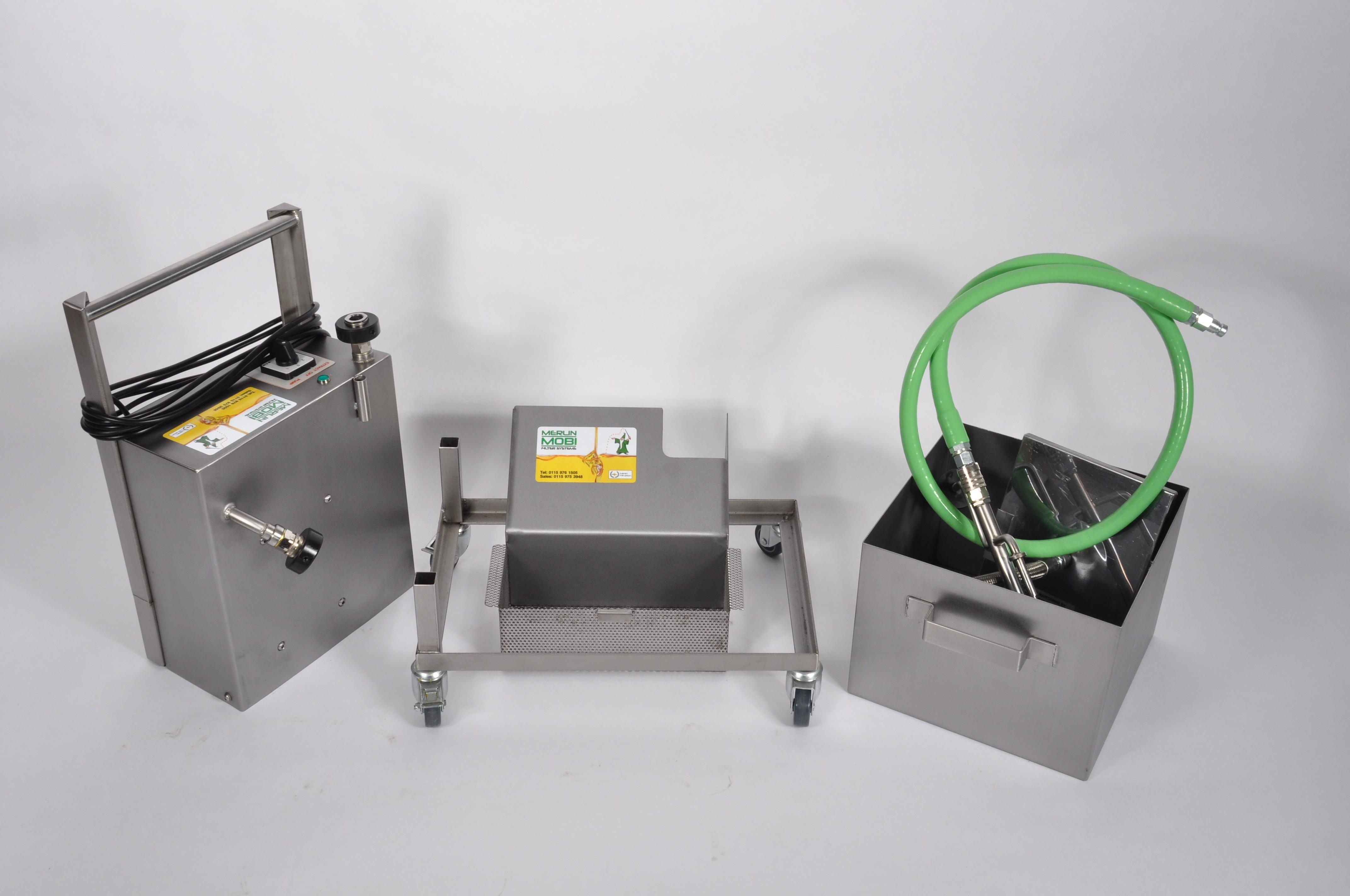 Merlin Mobi Oil Filtration Machine