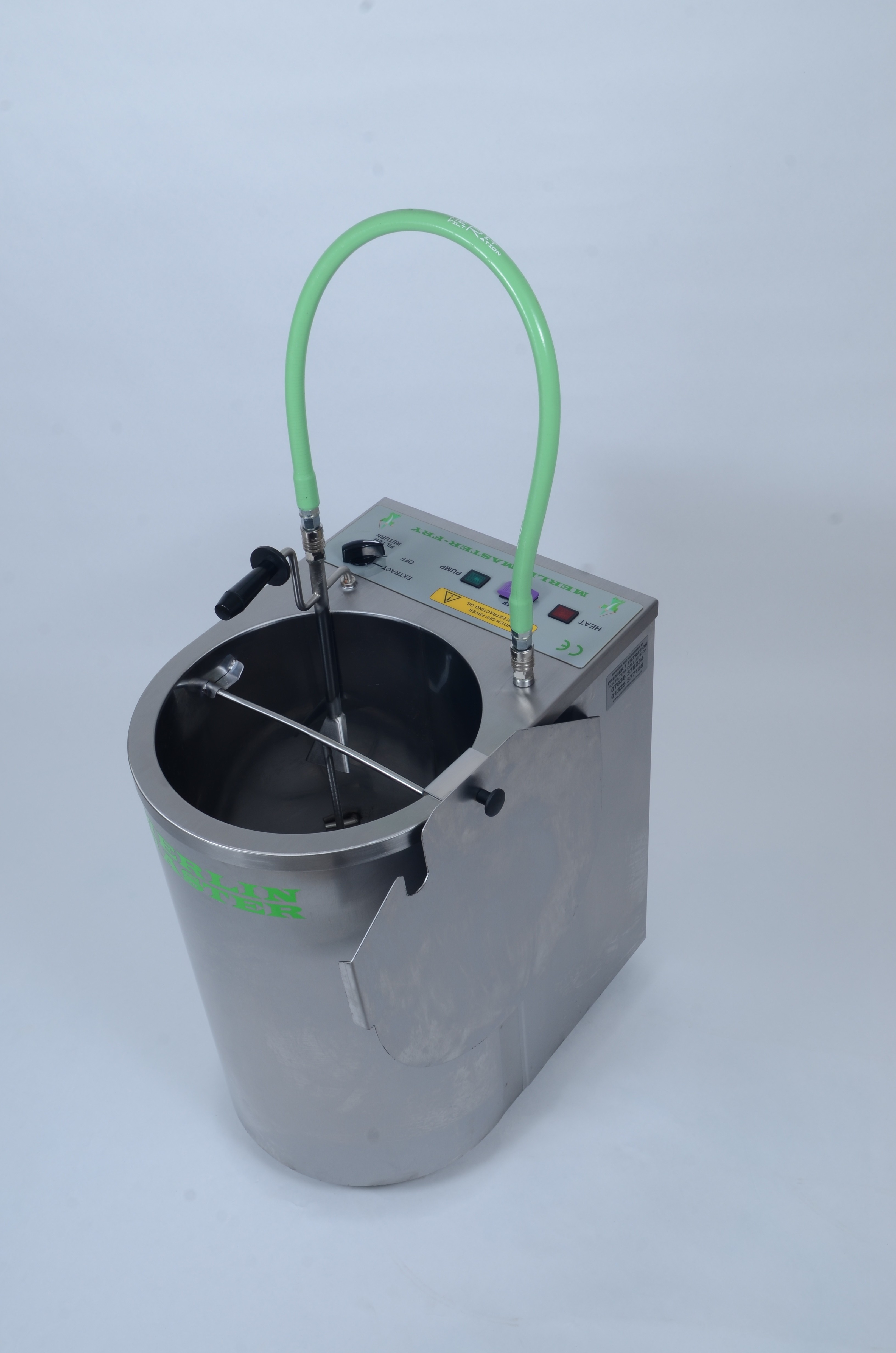 The Merlin Master Fry Oil/Fat Filter Machine