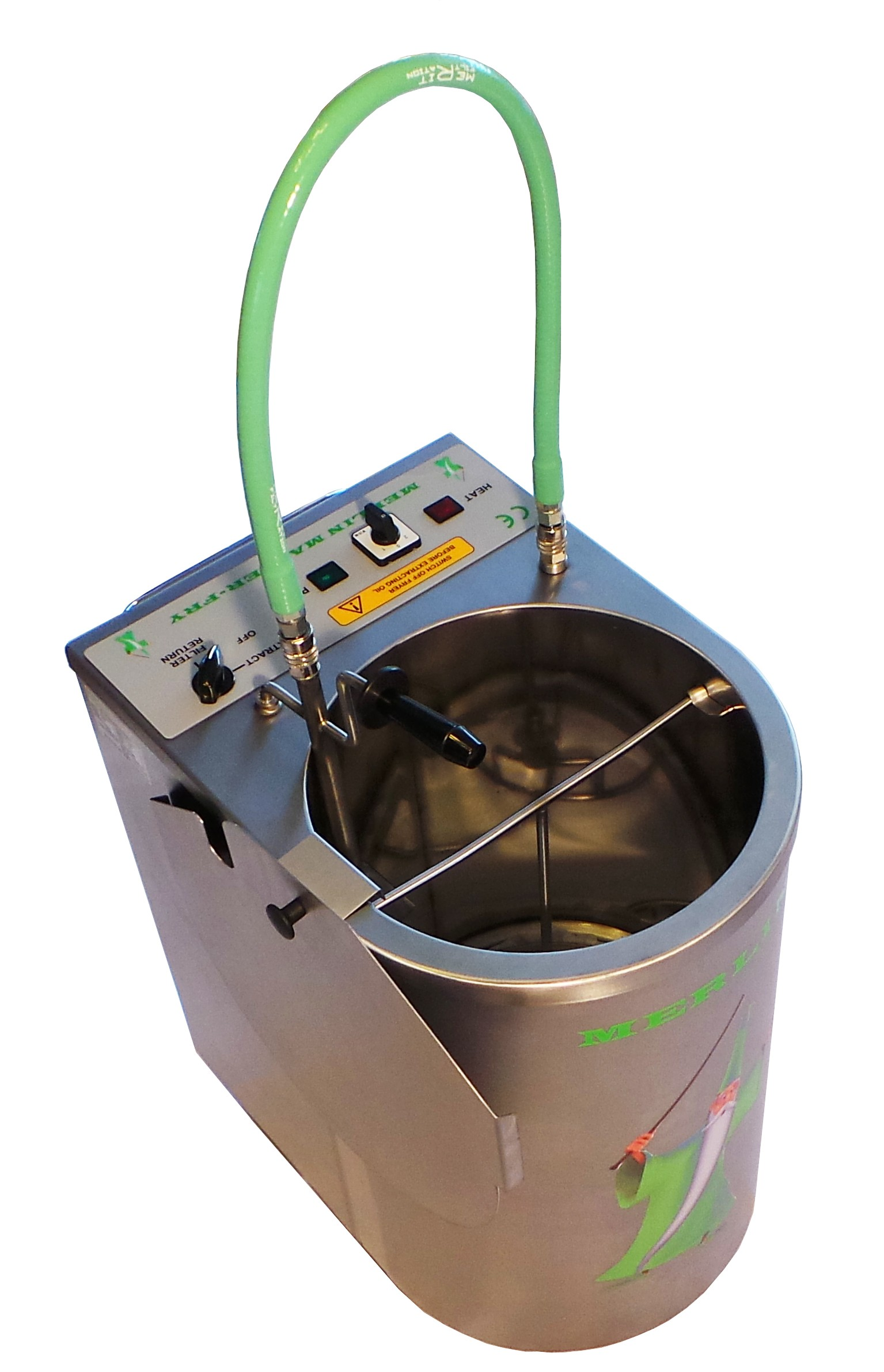 Merlin fat filter machine