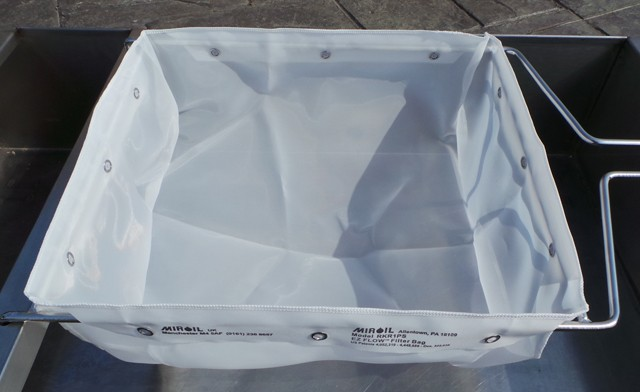Miroil nylon high efficiency filter bag